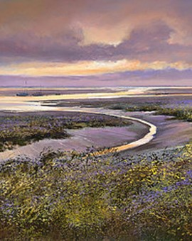 Dusk-at-Morston-Wychwood-Art-Gallery-Michael Sanders