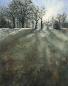 Janette George Frosty Morning, Jephson Gardens Wychwood Art