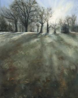 Janette George Frosty Morning, Jephson Gardens Wychwood Art