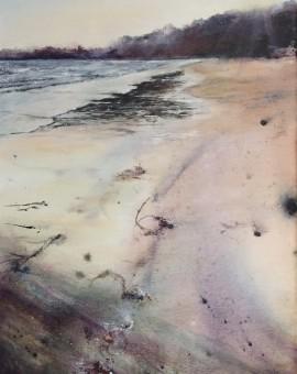 Janette George Porth Ceriad Beach, Wales Wychwood Art