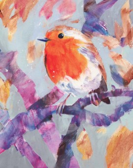 Winter robin for sale by Carolyn carter