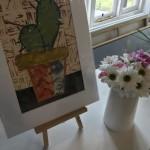 Cactus-I-Jenny-Balmer-Easel-Wychwood-Art-Contemporary-Art