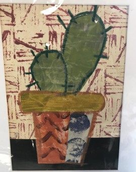 Cactus-I-Jenny-Balmer-Wychwood-Art-Contemporary-Art