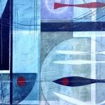 Catch and release.Heidi Archer.Wychwood Art. Close up 2