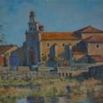 Colin Allbrook. Santa Christina, Spain. Wychwood art