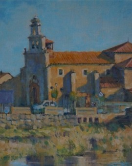 Colin Allbrook. Santa Christina, Spain. Wychwood art