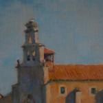 Colin Allbrook. Santa Christina, Spain. Wychwood art.Detail