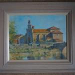 Colin Allbrook. Santa Cristina, Spain. Wychwood art. Frame