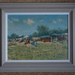 Colin Allbrook.Honiton show cattle. Wychwood art.  Frame 5