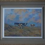 Colin Allbrook.Late afternoon sun. Wychwood art.Frame