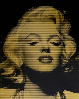Gold-Marilyn-David-Studwell-Silkscreen-Print-Wychwood-Art