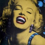 Gold-Marilyn-Silkscreen-print-David-Studwell-Wychwood-art