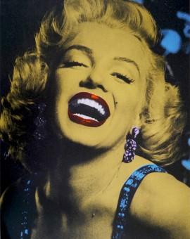 Gold-Marilyn-Silkscreen-print-David-Studwell-Wychwood-art