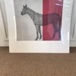Guy-Allen-Horse-Study-Red-Full-Original-Print-British-Art