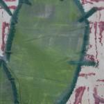 Jenny Balmer, Cactus I, Original Painting, Plant Art