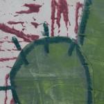 Jenny Balmer, Cactus I, Original Painting, Plant Art 2