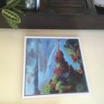 Margaret Crutchley Cape Cornwall, framed Wychwood Art