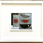 Noir et rouge. Heidi Archer.Wychwood Art.Frame