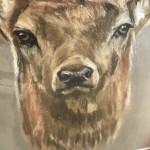 Stags-Head-Roger-Heaton-Close-Original-Print-Contemporary-Art-Wychwood-Art