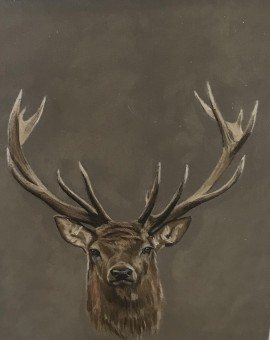 Stags-Head-Wychwood-Art-Contemporary-Art