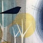 Two in the bush. Heidi Archer. Wychwood Art. close up
