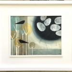 Two in the bush.Heidi Archer.Wychwood Art.frame