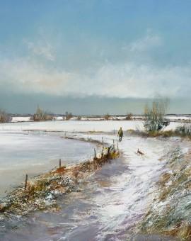 michael-sanders_walking-home-snow-print-wychwood-art