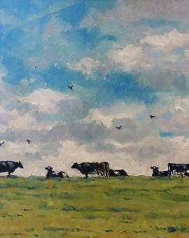 Colin Allbrook Top of the field Wychwood Art