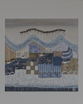 Jessica Leighton Gloucestershire Lavender Fields Wychwod Art