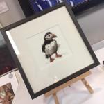 Puffin-Print-Framed-Art-Wychwood-Art