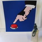 Pure Evil, Masters of War (Blue), Limited Edition Print, Pop Art