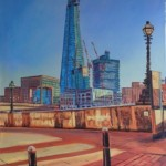 Robert Barlow Shard Construction By The Thames wychwood Art.jpeg