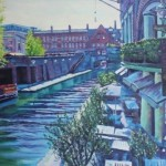 Robert Barlow Sunlight On Brindley Place Wychwood Art.jpeg