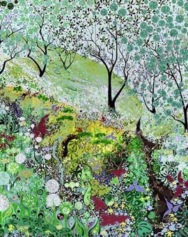 woodland-log-spring-print-spring-Katie-Allen-Wychwood-Art