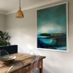 Laura Rich, mirror pools framed in situ
