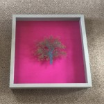 Emma-Levine-Hot-Oak-Paper-Cut-Framed-Minimalism-Contemporary-Art-Frame-Front