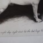 Tammy Mackay, Night Night, Dog Art, Prints of Dogs, Animal Art 4