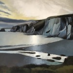 Tim Woodcock-Jones blue cliffs Wychwood Art