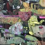 Elaine Kazimierczuk Big Fun in the Garden Wychwood Art
