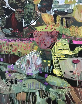 Elaine Kazimierczuk Big Fun in the Garden Wychwood Art