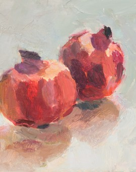 Lynne Cartlidge Pomegranates Wychwood Art