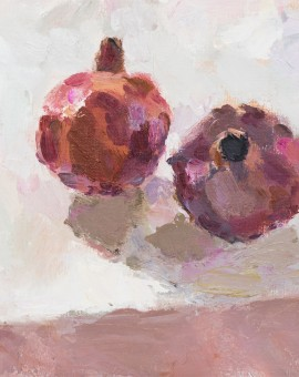 Lynne Cartlidge Pomegranates at Table Edge Wychwood Art