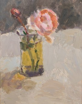 Lynne Cartlidge Rose in Brackish Water Wychwood Art