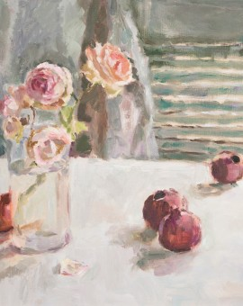 Lynne Cartlidge Roses and Pomegranates Wychwood Art
