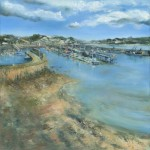 Janette George Newlyn Harbour Wychwood Art