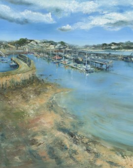 Janette George Newlyn Harbour Wychwood Art