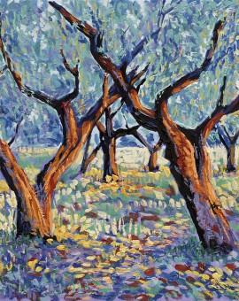 LM Tiller - Tree Poem 10 (Olive Grove)-Wychwood
