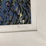 Marsh Marigold, Alexandra Buckle, Limited Edition Linocut Print, Landscape Art, Close Up 6
