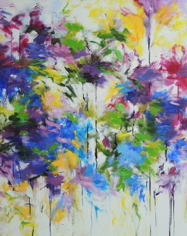 MaryChaplin the era of flowers Wychwood Art