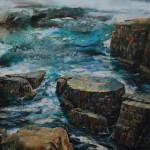Tess Gartland-Jones,'To The Lighthouse, Newfoundland',Wychwood Art